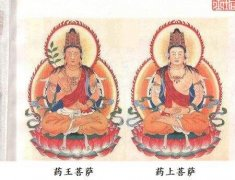 药王菩萨一般在寺庙什么位置,药王菩萨为什么要骑虎?